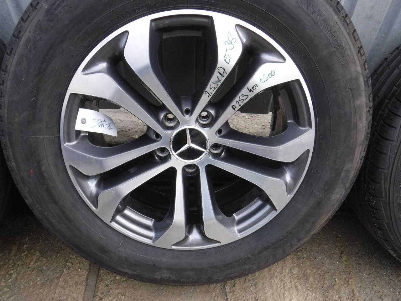 Jante Mercedes Glc 235 65 17 Vara Bridgestone cu SENZORI PRESIUNE