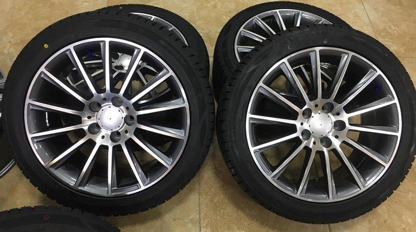 Jante Mercedes R17 cu Anvelope iarna CLS CLA E CLASS C CLASS W205 W212 etc