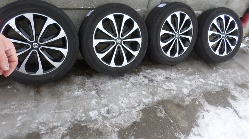 Jante Nissan Qashqai 215 55 18 Vara Continental Pirelli