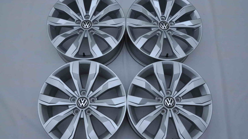 Jante Noi 17 inch Originale VW T-Roc Passat Tiguan Golf Jetta Caddy Sharan Touran R17
