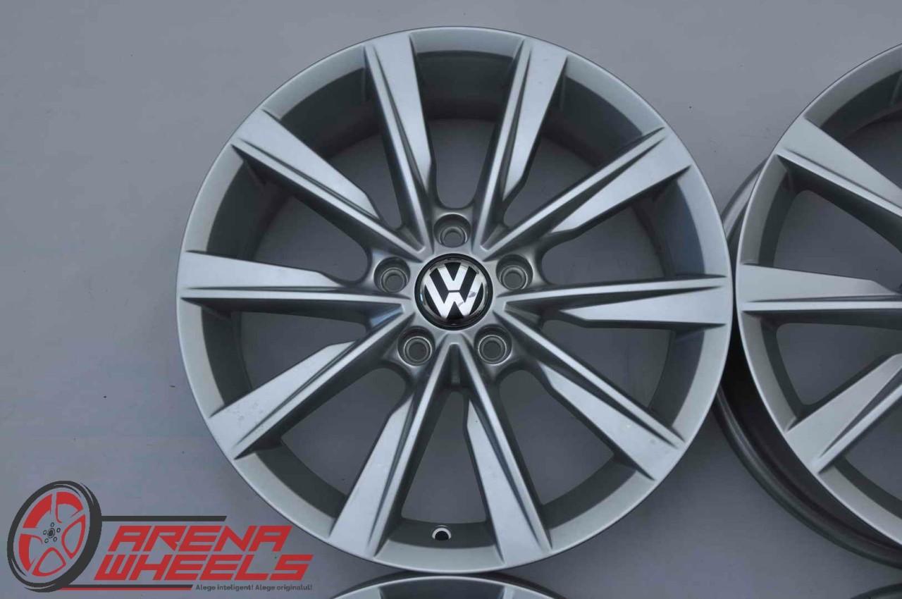 Jante Noi 17 inch Originale VW Tiguan T-Roc Passat B6 B7 B8 CC Golf Jetta Caddy EOS Touran R17