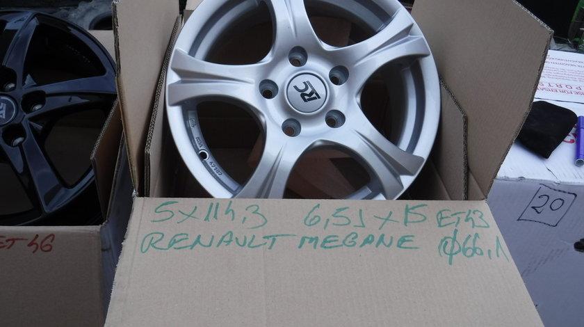 Jante Noi Renault Megane 3  Fluence  Scenic 3  Nissan 15 zoll 5x114,3
