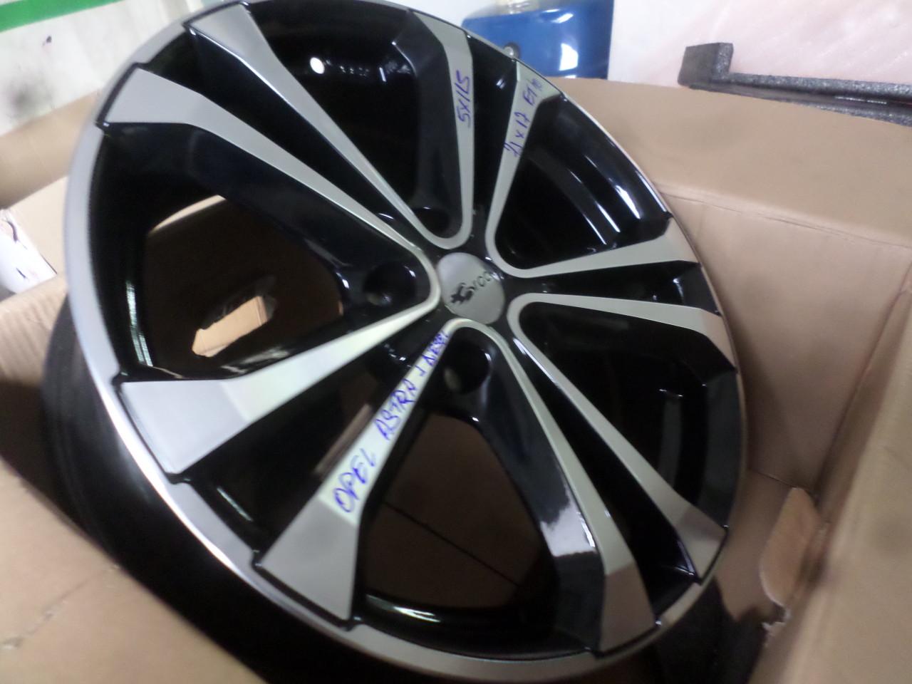 Jante Opel Astra J 5x115 NOI 17 zoll marca RC Design Rc 27
