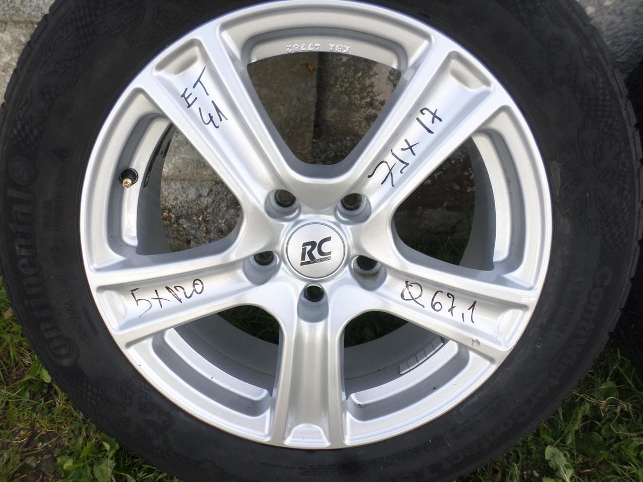 Jante Opel Insignia 225 50 17 continental