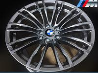 Jante Originale BMW M5 si Seria 5 F10 Styling 345M pe 19 inch din Aliaj Titan