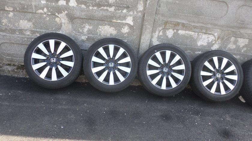 Jante originale Honda Accorc Civic Crv Frv echipate cu anvelope 225 50 17  vara Bridgestone