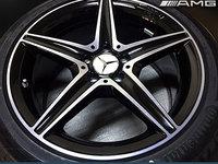Jante Originale Mercedes AMG C Class W205 Bicolor pe 18 inch cu Anvelope Continental