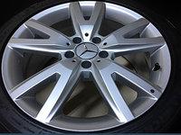 Jante Originale Mercedes CLS model W218 pe 18 inch cu Anvelope de Vara Michelin