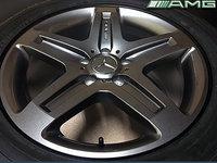 Jante Originale Mercedes G Classe AMG pe 19 inch model W463 cu Anvelope Dunlop