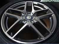 Jante Originale Mercedes GLC AMG pe 19 inch cu Anvelope de Vara Pirelli