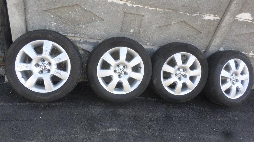 Jante originale VW Golf 4 Bora Skoda 205 55 16 Vara Dunlop