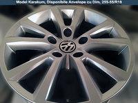 Jante Originale VW Touareg motorizare 3L Noi pe 18 inch Model Janta Karakum