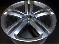 Jante Originale VW Volkswagen Touareg V6 Mallory pe 21 inch cu Anvelope Dunlop