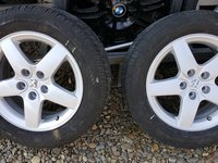 Jante Peugeot 407 205/60/R16 cu anvelope de Iarna in buna