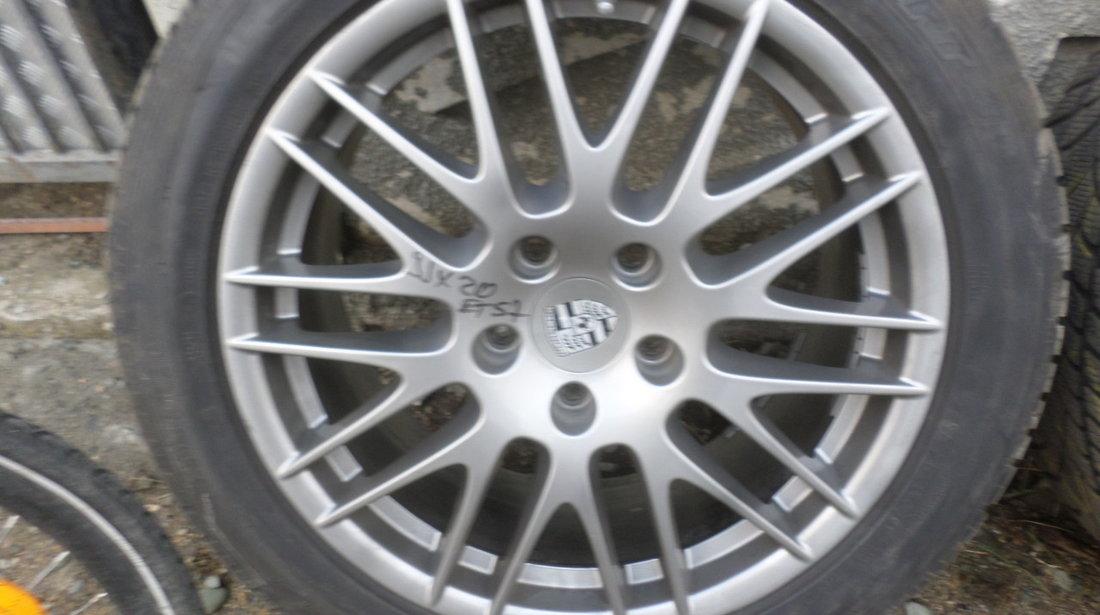 Jante Porsche Cayennen RS Spyder  275 45 20 Iarna Dunlop SENZORI DE PRESIUNE