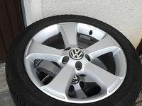 Jante R17 ,5X112 VW Passat ,CC cu anvelope iarna