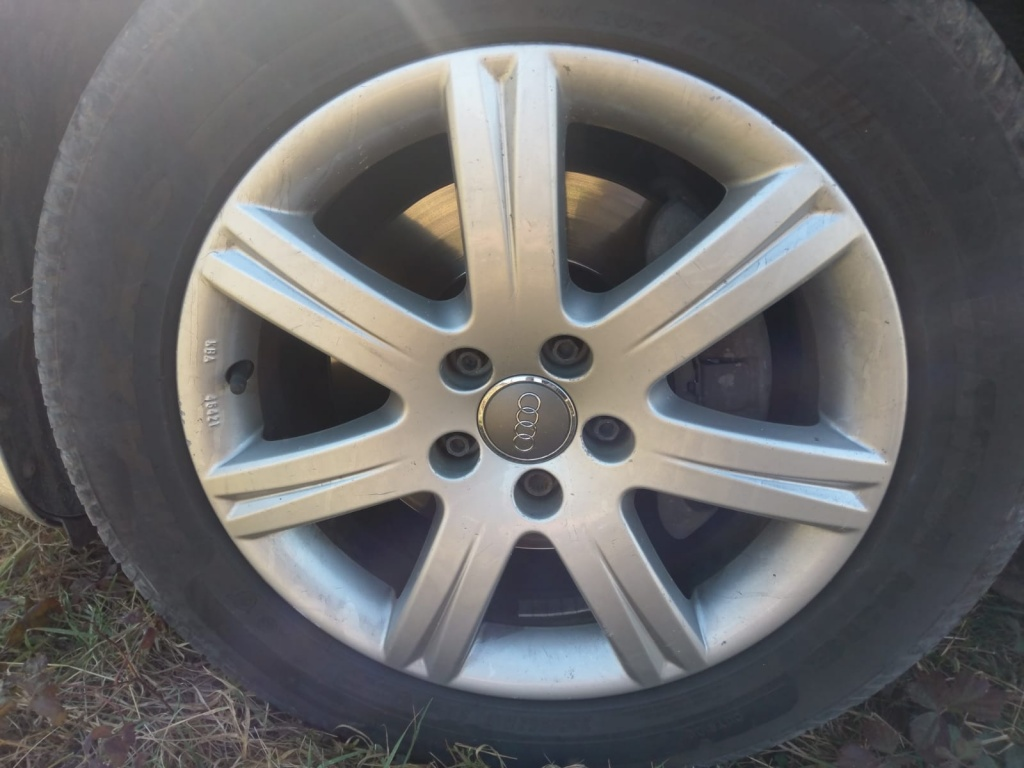 Jante r17 inch cauciucuri gratis Audi a8 a6 c6 a4 b7 b6 pass