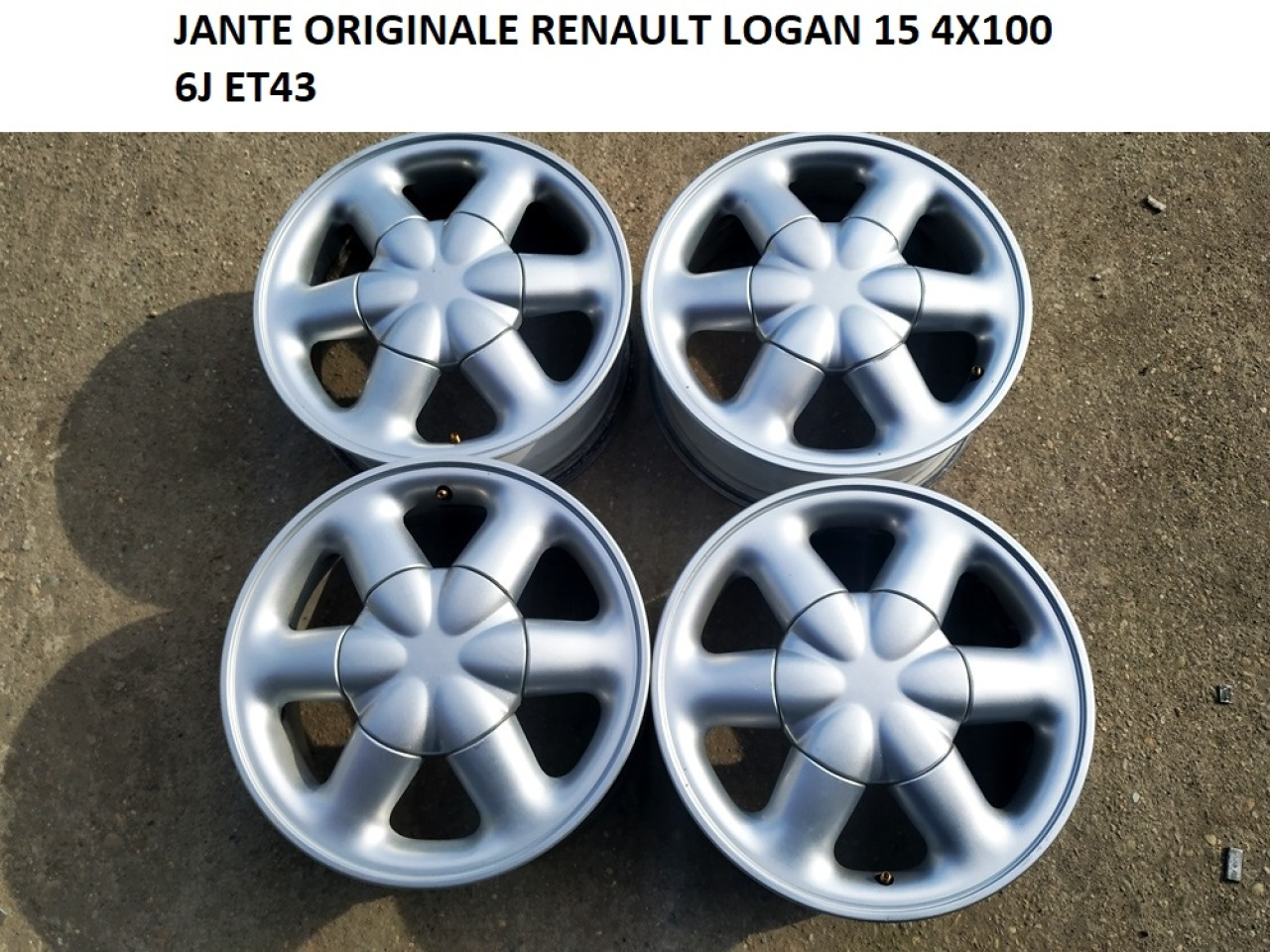 JANTE RENAULT LOGAN 15 4X100