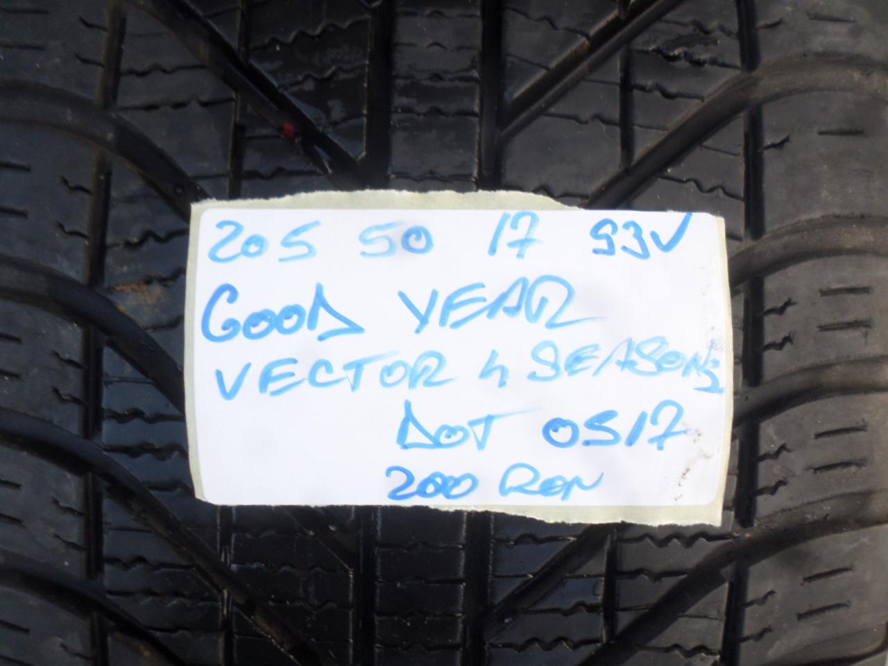 Jante seat leon FR 17 zoll 205 50 17 iarna Goodyear vector4season