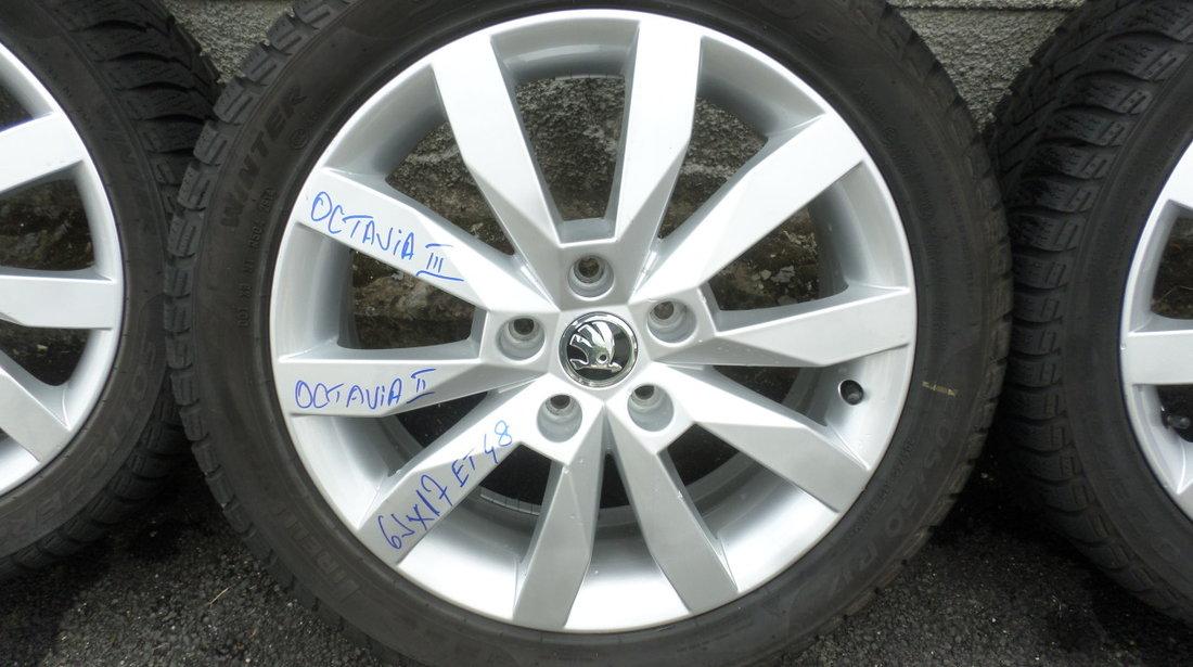 Jante Skoda Octavia Superb 205 50 17 Iarna Pirelli Sottozero