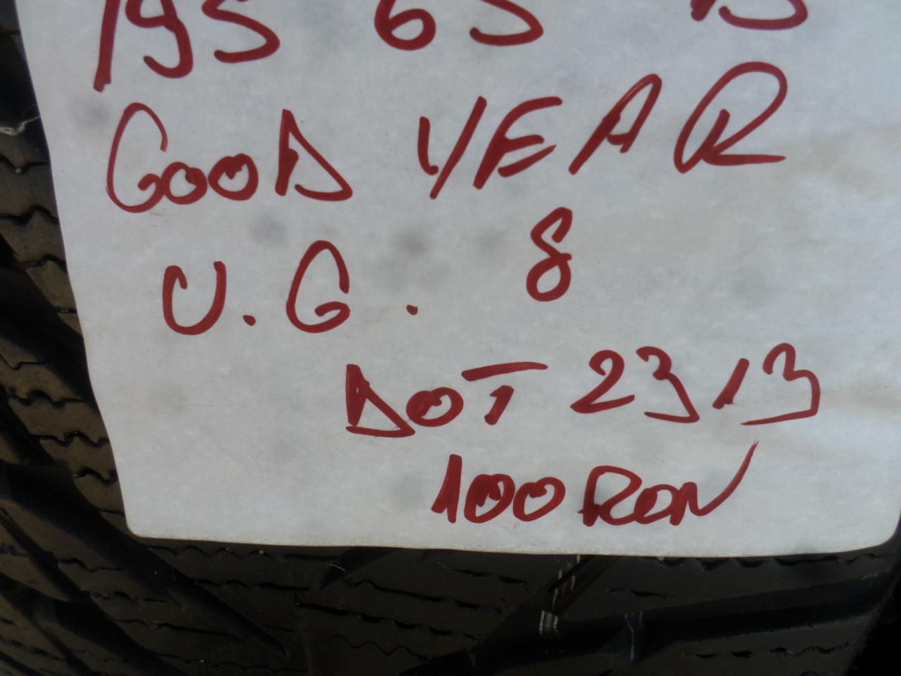 Jante  Skoda Octavia VW Golf 5 6 7 marimea  195 65 15 Iarna Goodyear