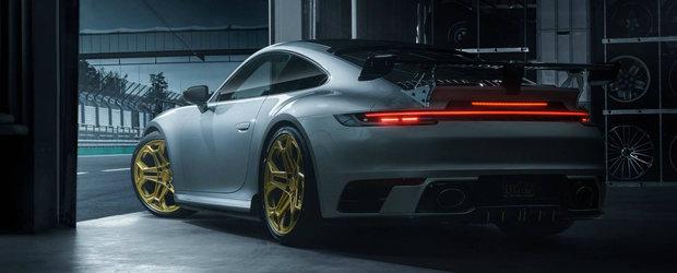Jante, spoilere si 60 CP in plus pentru noul Porche 911 Carrera 4S. Cum arata sportiva germana