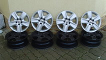 Jante structurale+capace structurale 5x112 pe 16 o...