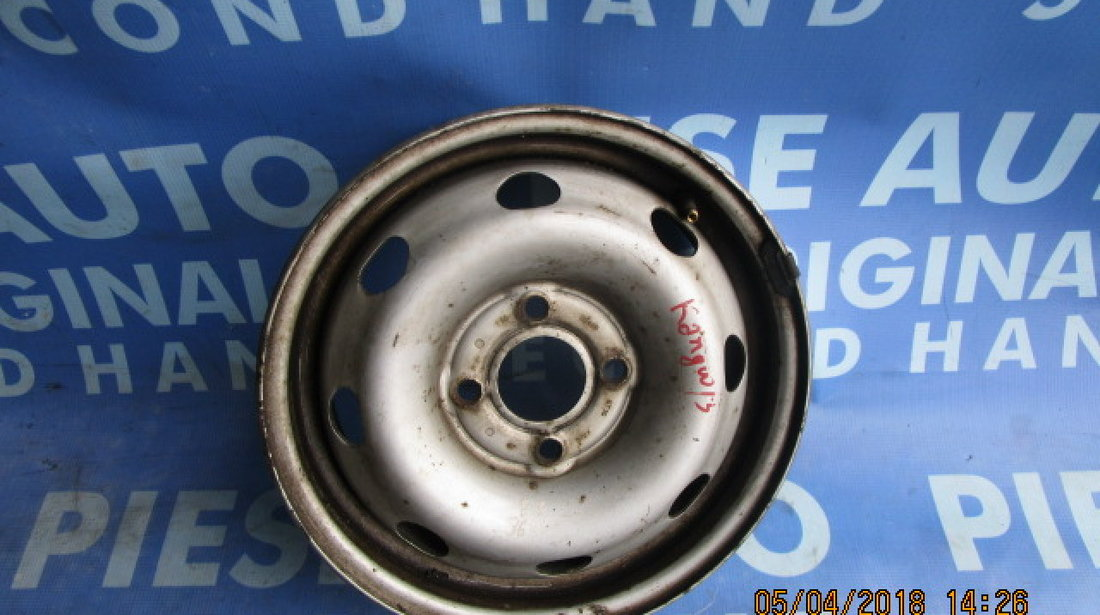 Jante tabla 13'' 4x100 Renault Kangoo ; ET36