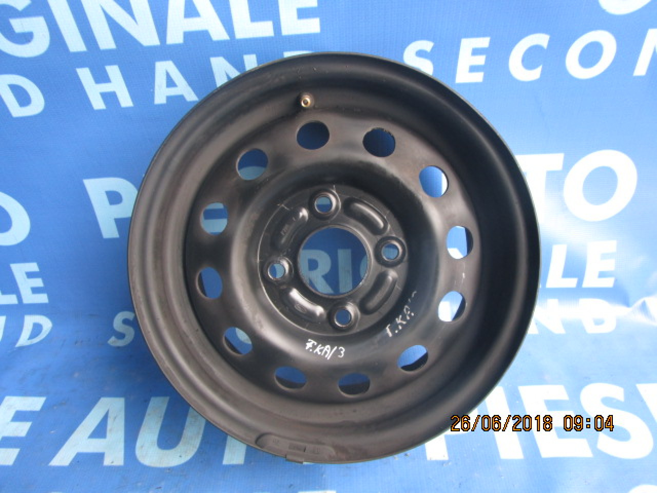 Jante tabla 13'' 4x108 Ford Ka ; ET20