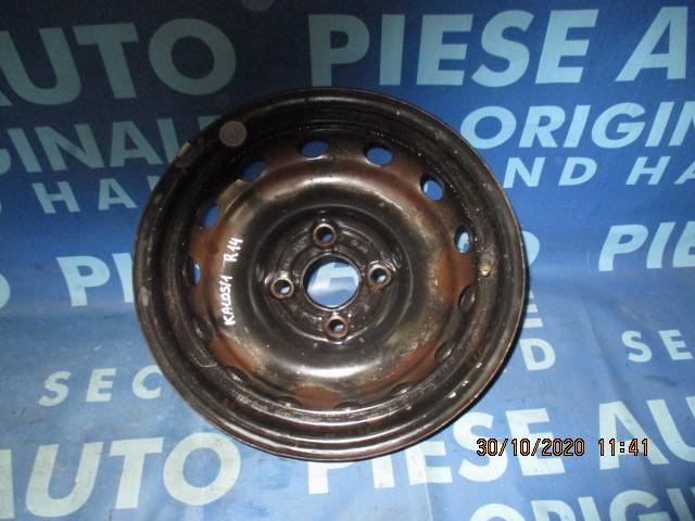 Jante tabla 14'' 4x100 Chevrolet Kalos 2005; ET 45