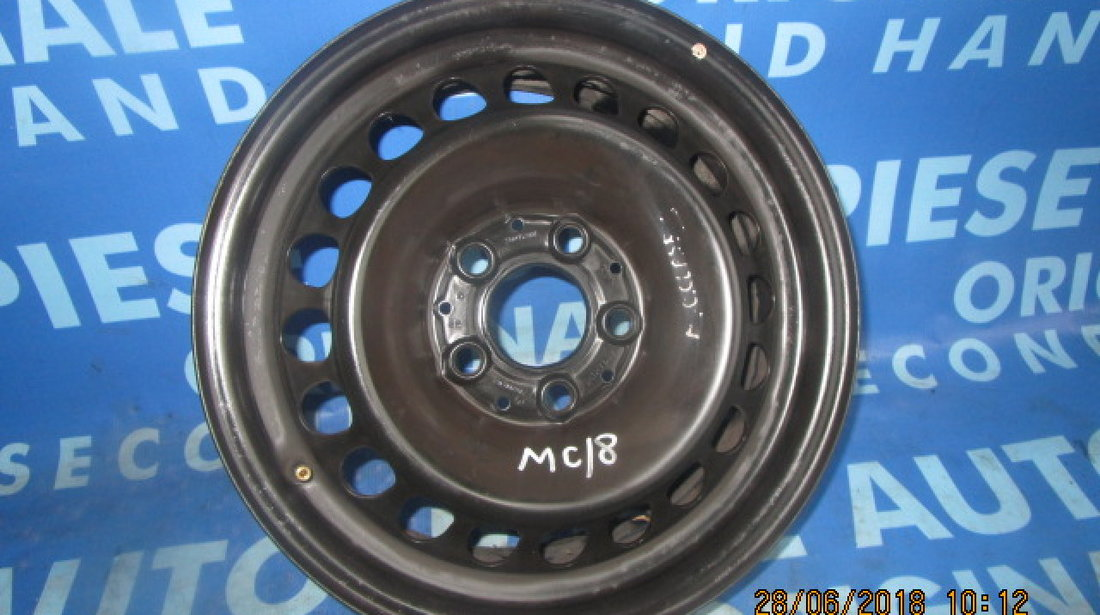 """Jante tabla 15"""" 5x112 Mercedes C220 W202; ET37"""