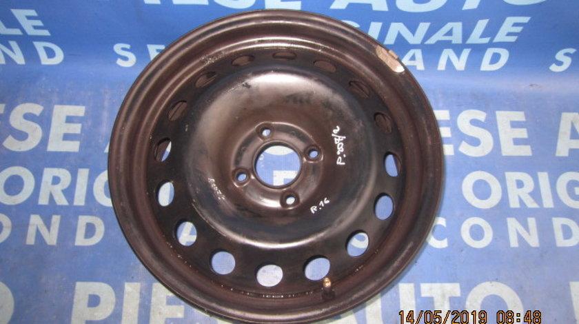 Jante tabla 16'' 4x108 Peugeot 207; ET27