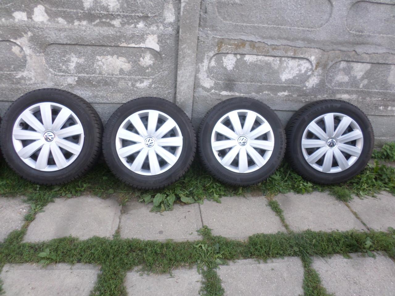Jante Tabla 16 VW Passat Golf 5 Golf 6 Iarna 205 55 16 Continental