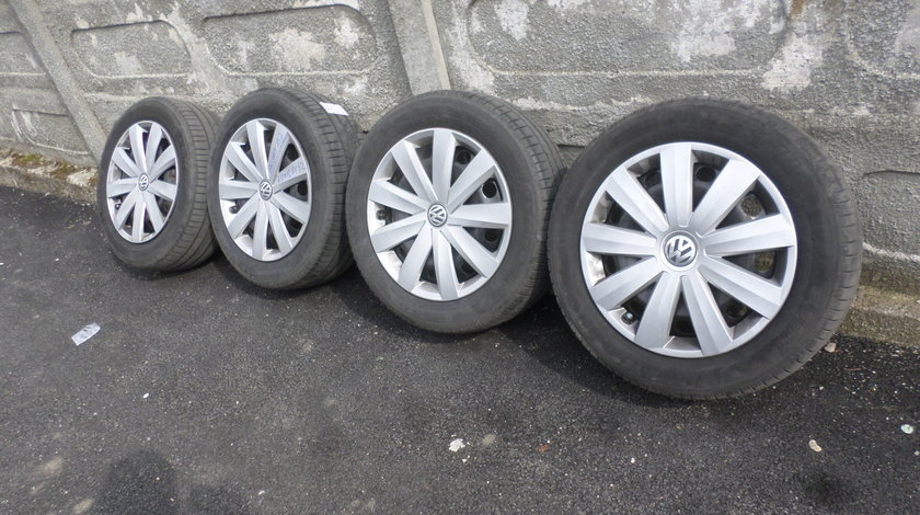 Jante Tabla 16 VW Passat Golf 5 Golf 6 Vara 205 55 16 Michelin dot (0618)