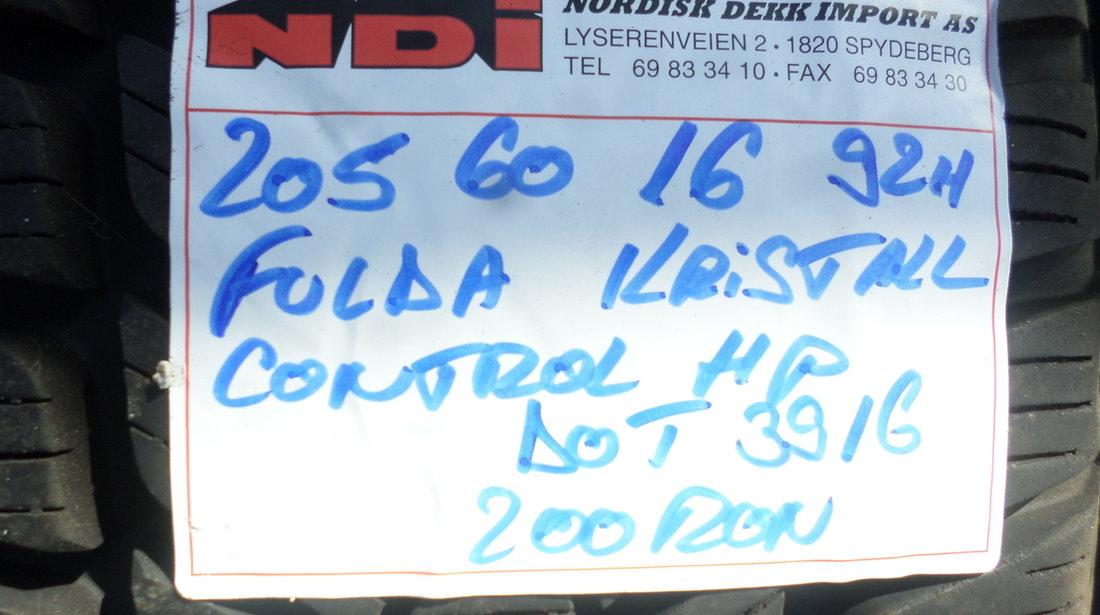 Jante Tabla Audi A4 B8 Iarna 205 60 16 Fulda Dunlop