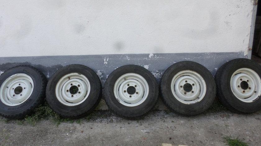 Jante tabla Land Rover Defender cu anvelope 205 80 16