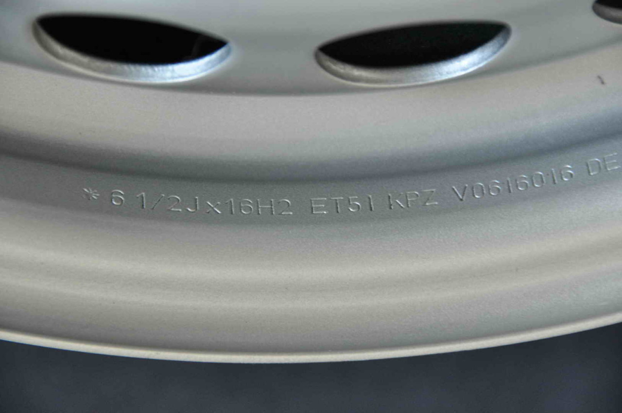 "Jante Tabla Noi 16"" Originale VW T5 T6 Transporter Caravelle Multivan California16 inch"