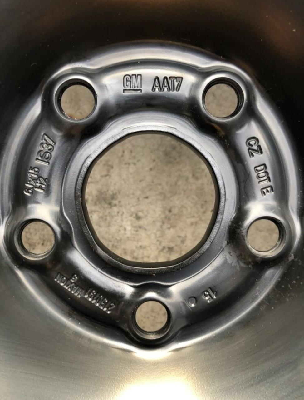 "Jante tabla/oțel Opel Astra K, Astra J, noi, 15"", cu senzori"
