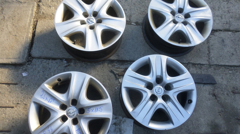 Jante Tabla Opel Astra J  Structurale 17 zoll 5x115 + Capace