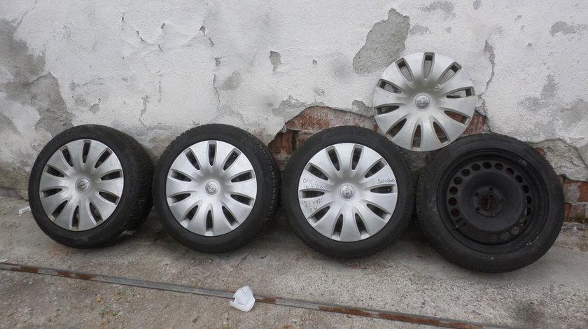 Jante Tabla Opel Insignia 225 50 17 Iarna ,,SENZORI '' Continental ContiWinterContact ts850