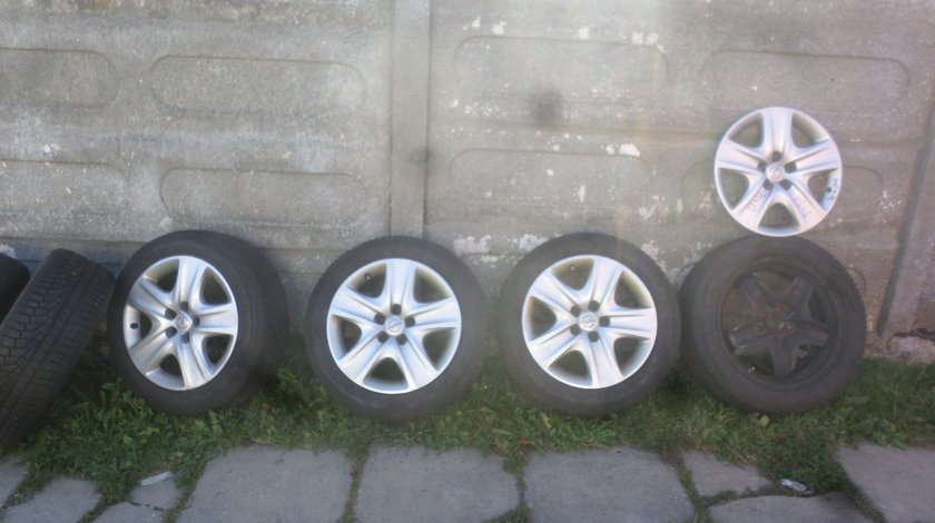 Jante Tabla Opel Insignia  Structurale 225 50 17 Iarna ,,SENZORI '' Michelin Alpin 5