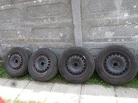 Jante Tabla Renault Opel Logan 195 65 15 Iarna Continental Michelin