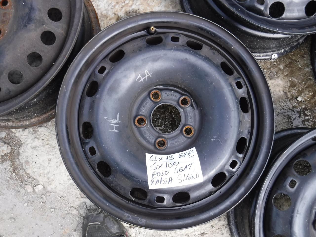 Jante tabla Skoda Fabia VW Polo Seat Ibiza Audi A1  15 zoll