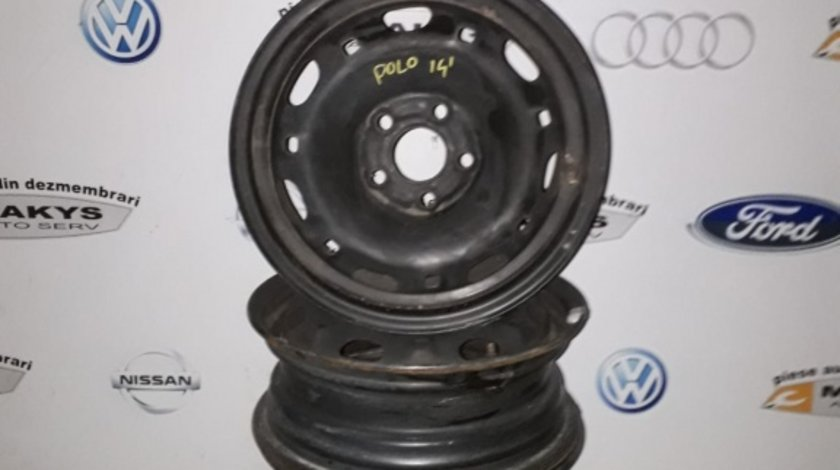 Jante tabla VW Polo 5x100