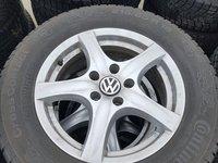 Jante Volkswagen Tiguan, dimensiune:215x65 16'' 5x112, 6,5j ,et 33 -anvelope m+s