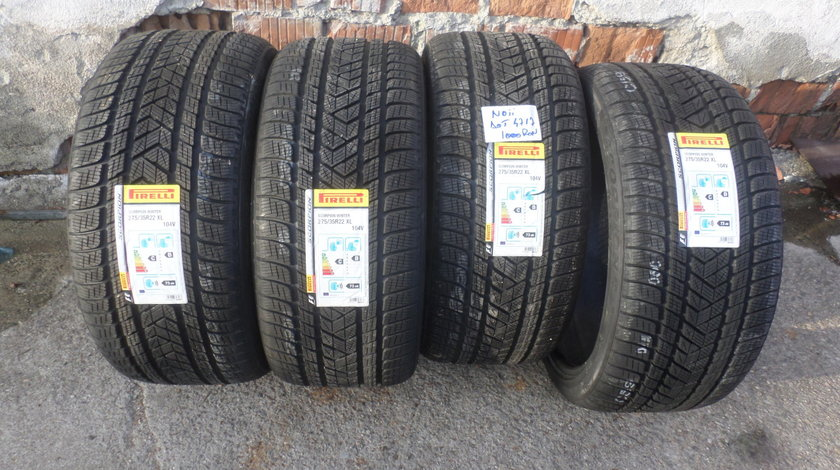 Jante Volvo XC 60 , XC90  275 35 22 iarna Pirelli NOIII +Senzori de Presiune