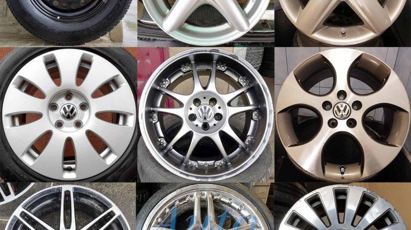 Jante VW Audi Skoda Seat 14 15 16 17 18 19, Aliaj / tabla 5x112 5x100 4x100, Anvelope