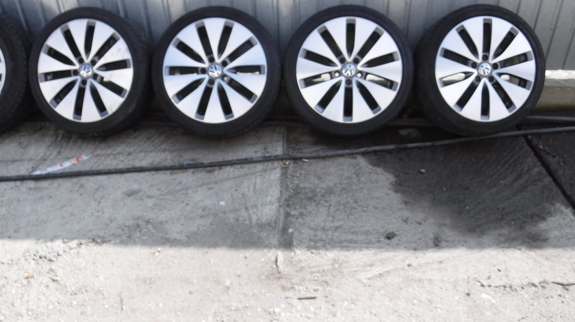 Jante VW Golf 5-6-7 GTI 225 40 18 vara Bridgestone