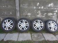 Jante VW Golf 5 Golf 6 Passat 205 55 16 Vara Bridgestone Bi Color