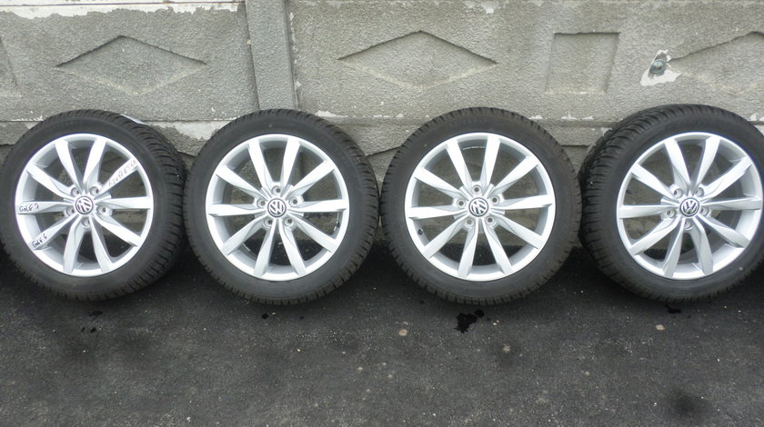 Jante VW Golf 7 DIJON  205 50 17 Iarna Dunlop